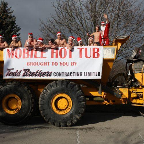 Mobile Hot Tub