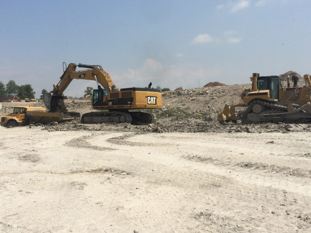 Peterborough Landfill Cell 3 Excavation